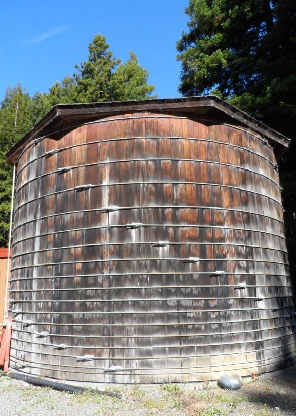 50,000 gal water storage